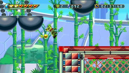 Freedom Planet : Carol Gameplay