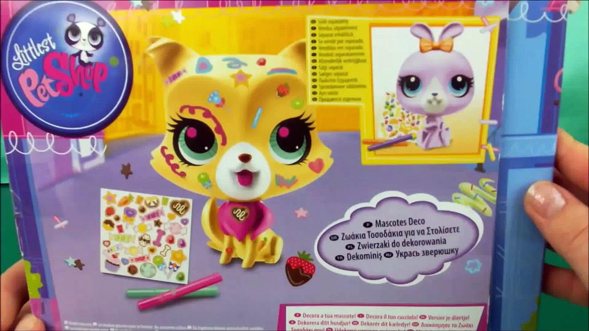 LPS Littlest Pet Shop Decorate your Pet, Deco Pets, Deko Tierchen