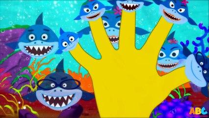 Shark Finger Family