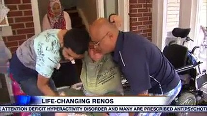 Younger brother's lemonade stand pays for life-changing renovation for elder brother with muscular dystrophy