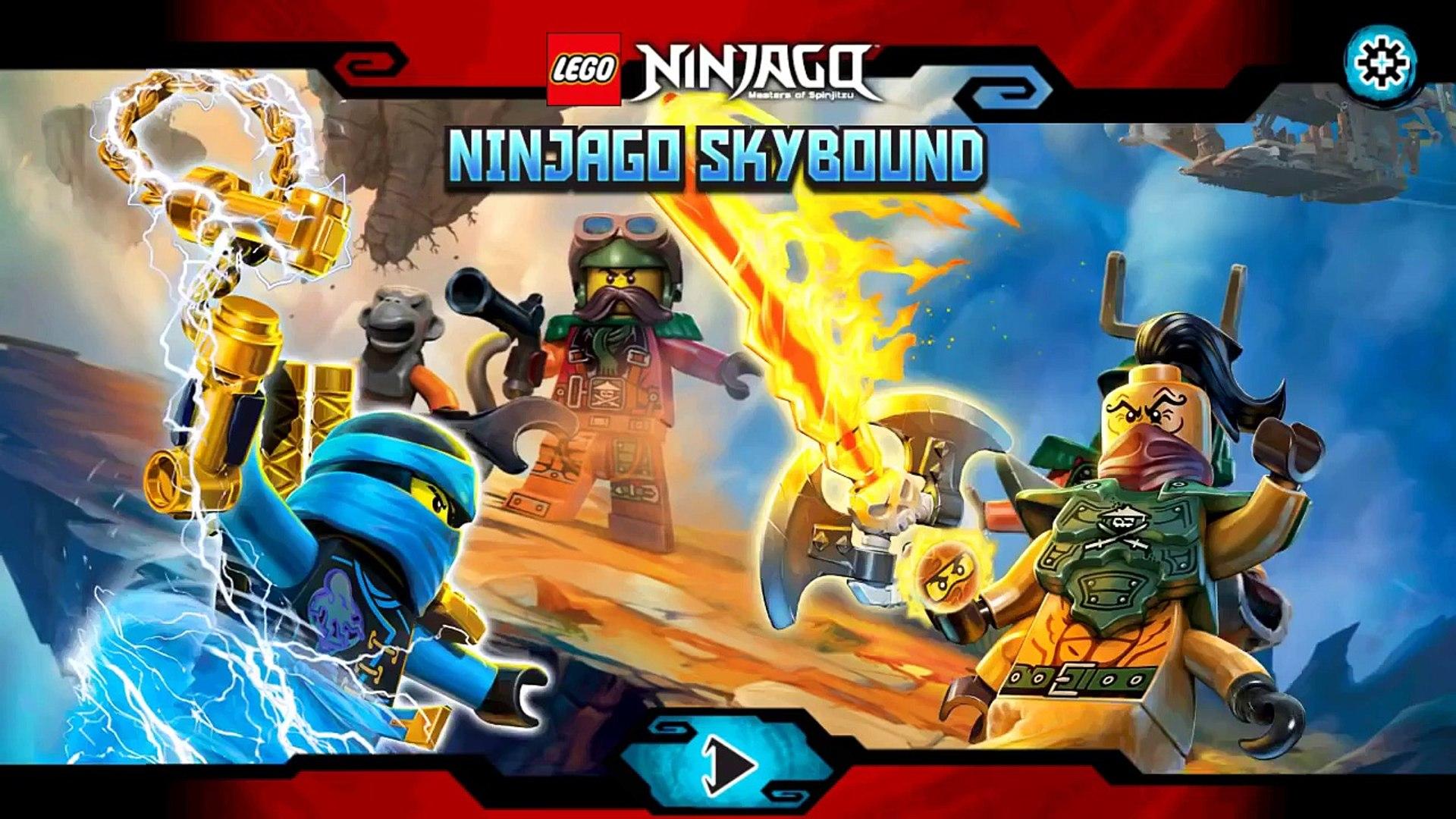 LEGO® Ninjago Skybound - Kid Friendly Android Games - Lego Ninjago Episode 1
