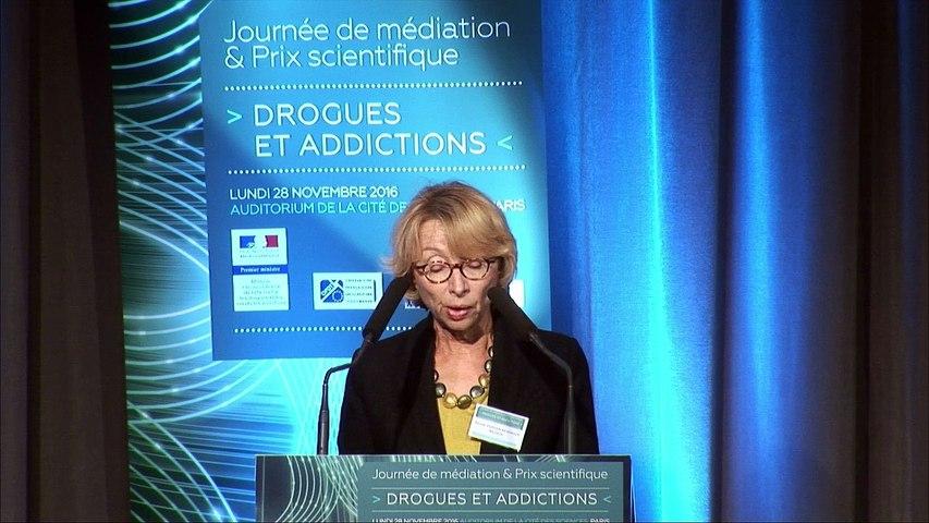 2 - Journée de médiation et Prix scientifique MILDECA « Drogues et addictions », 28 novembre 2016 – Ouverture - Danièle Jourdain Menninger, présidente de la MILDECA