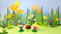 Ben and Hollys little kingdom stopmotion animation Gaston Ladybird