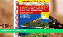 Audiobook  Slovenia/Croatia/Bosnia Marco Polo Road Atlas Pre Order