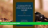 PDF  Causality of Psychological Injury: Presenting Evidence in Court  Trial Ebook
