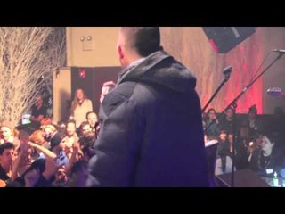 Kosha Dillz on Stage with Moshav at the Highline Ballroom
