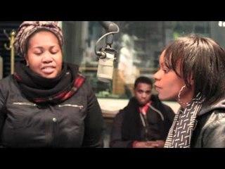 Promotion at Mahogany Soul Child Radio 89.3FM KUVO