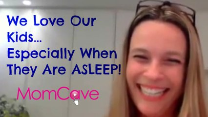 Tova Leigh on MomCave LIVE | We Love Our Kids... Especially When They Are Sleeping! | Sleeping Kids