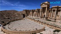 Section Of Historic Roman Theater in Palmyra Destroyed By ISIS