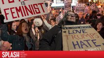 Protestors Take to the Streets on the Eve of Donald Trump's Inauguration