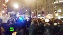 Massive anti-Trump protest at #DeploraBall in DC ahead of inauguration