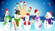 SNOWMAN Finger Family Cartoon Animation Nursery Rhymes For Children