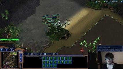 Quand NaNiwa split ses adeptes - StarCraft II