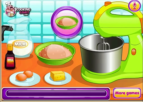 Nutella Cup Cakes Games-Cooking Games-Hair Games