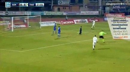 Marcus Berg Goal - Kerkyra0-1Panathinaikos 22.01.2017