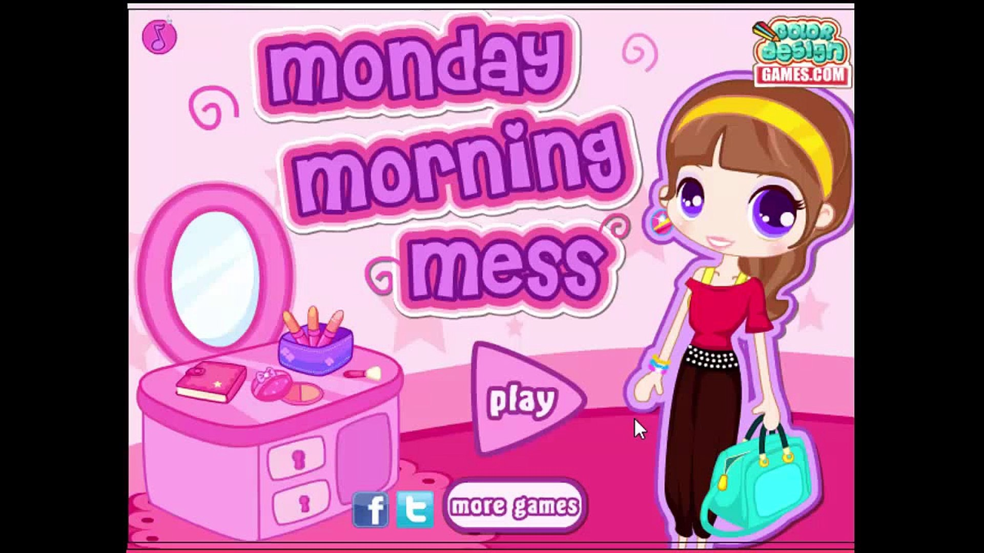 Baby Game Movie - Monday Morning Mess - game movie for kids