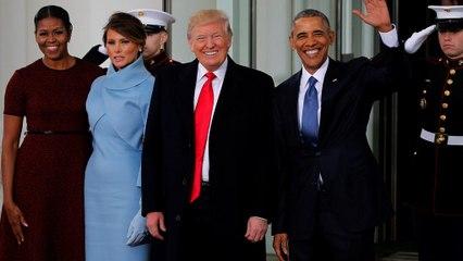 Őrségváltás – teadélelőtt a Fehér Házban