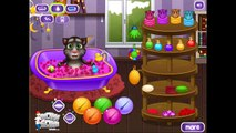 Talking Tom Cat Takes a Bath - My Talking Tom Cat Game Movie - My Talking Tom Baby Bath