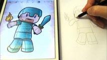 Как нарисовать Chibi Minecraft для детей How to draw for children How to Draw Chibi Minecraft Human