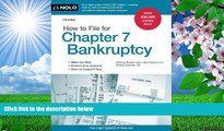READ book How to File for Chapter 7 Bankruptcy Stephen Elias Attorney Trial Ebook