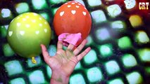 Wet Colour Balloons Learn Nursery Rhymes || Water Balloons For Finger Family Collection Rhymes