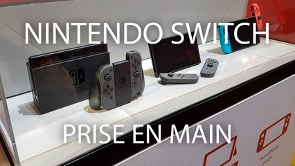 Prise en main de la Nintendo Switch