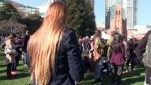 Martin Luther King day - Kids speakers - Yerba Buena Gardens, San Francisco -1-16-2017