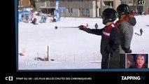 TPMP au ski : Enora Malagré, Isabelle Morini-Bosc, Benjamin Castaldi, les plus belles chutes des chroniqueurs !