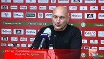 AC Ajaccio-Orléans : le but ajaccien et la réaction d'Olivier Pantaloni