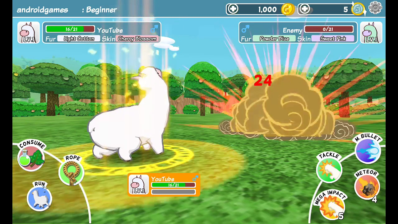 Alpaca World HD Android Games