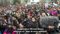 """Michael Moore annonce un """"bain de sang politique. """""""