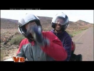 Le Paris Dakar en Honda dans V6