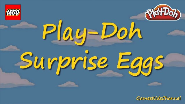 Doh! The Simpsons SURPRISE EGGS - Play Doh - The Simpsons LEGO Minifigures!