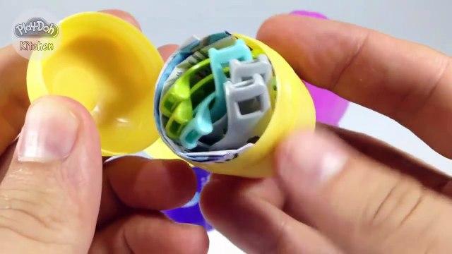 Surprise Eggs Unboxing - Surprise Eggs Play Doh - Kinder Surprise Eggs Unboxing Disney Collector