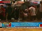 Maraming commuter, naperwisyo ng pagbaha at matinding pagbigat ng trapiko kasunod ng pag-ulan