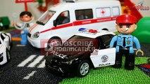 Машинки пазлы - Cars and Trucks for kids - Ambulance,Fire Truck - Street Vehicles