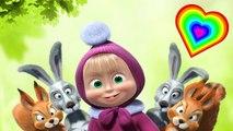 Canción de los Colores en Inglés y Español - Canción para niños - Cancion Infantil - Masha y el Oso