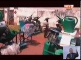 Extrait du JT RTI : Oumé / Dons de matériels agricoles agricoles aux Coopératives