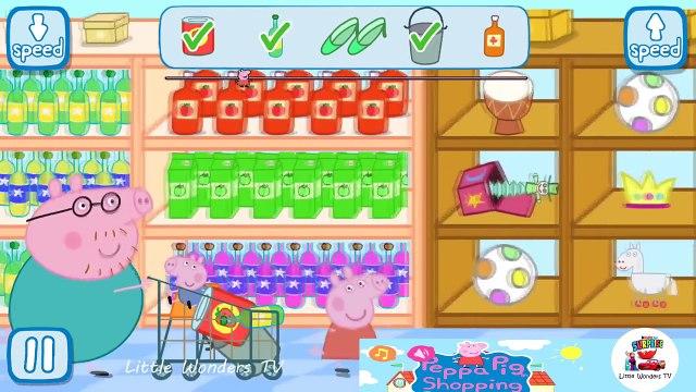 Peppa Pig Shopping | Peppa Pig Games | Peppa Pig Shopping Gameplay | Best Peppa app demo for kids