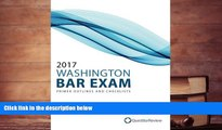 Audiobook  2017 Washington Bar Exam Primer Outlines and Checklists Quest Bar Review  For Ipad
