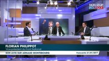 Florian Philippot aurait pu voter pour Arnaud Montebourg il y a deux ans