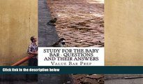 Read Book Study For The Baby Bar - Questions and their answers: Covers Contracts Criminal law and