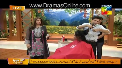 Actress Noor Revealing The Secret Behind Her Long Hairs