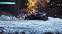 Rallye Monte Carlo : De belles glissades dans la spéciale ES8