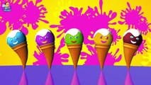 Ice Cream Finger Family _ Ice Cream Finger Family Songs _ 3D Animation Nursery Rhymes & Songs-u5vOsAtr38I