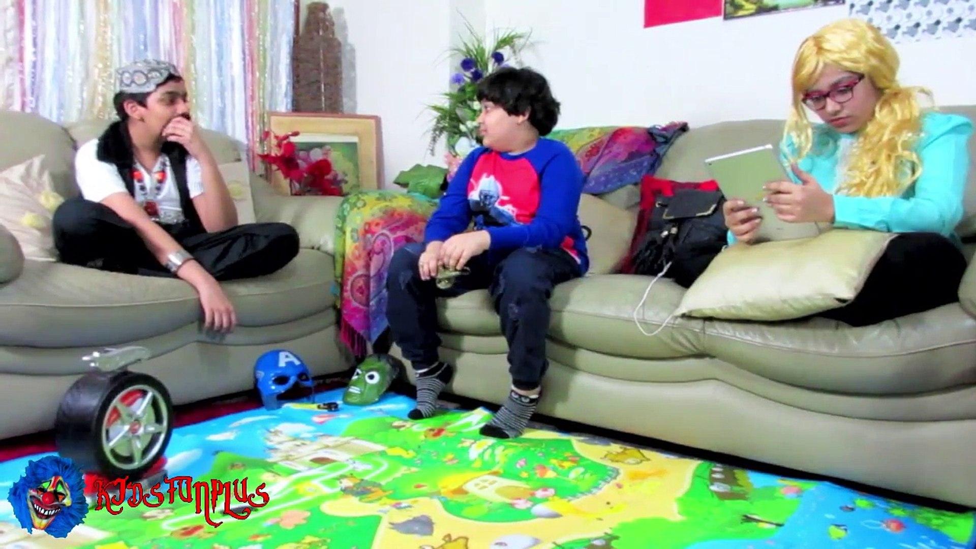 Scary Killer Clown A GENIE AND A MUMMY? Episode 14 :: Kids Fun Plus