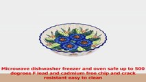Ceramika Bona H7782G Polish Pottery Ceramic Fluted Pie Dish Hand Painted 10Inch 27c392ae