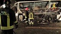 Italie: 16 morts dans un accident de bus transportant des jeunes