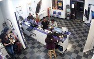 Two black females steal iPhone; two white female employees chase