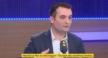 """Pour Florian Philippot, l'élection de Trump était """"préférable"""" pour """"les intérêts de la France"""""""